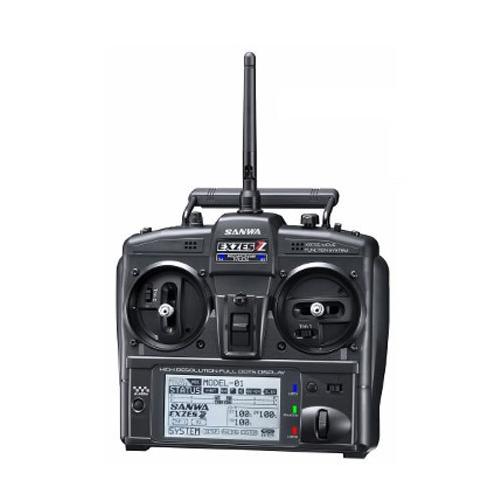 Exzes ZZ - RADIO SANWA CAR EXZES ZZ 2,4G FSSH-4T 4CH