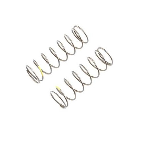 A TLR344017- 16mm EVO Front Shock Spring, 4.7 Rate, Yellow (2) for 8ight