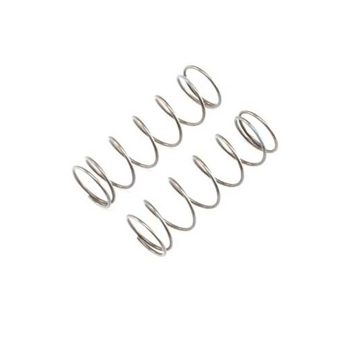 A TLR344021 -16mm EVO Front Shock Spring, 5.5 Rate, Grey (2) for 8ight