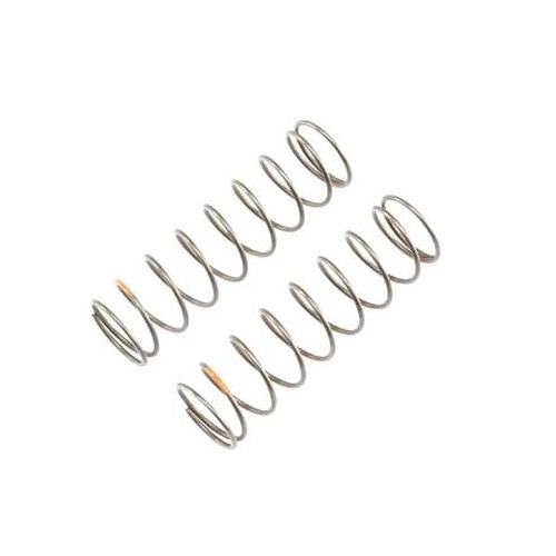A TLR344024 -16mm EVO Rear Shock Spring, 4.0 Rate, Orange (2) for 8ight