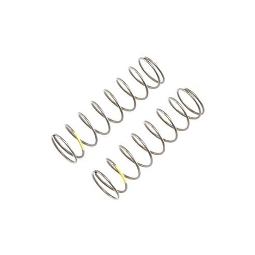 A TLR344025 -16mm EVO Rear Shock Spring, 4.2 Rate, Yellow (2) for 8ight