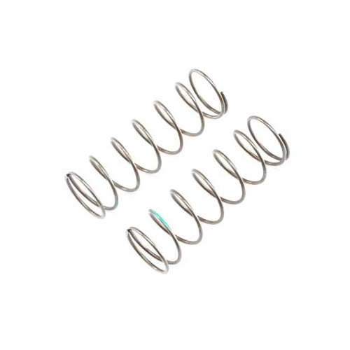 A TLR344018- 16mm EVO Front Shock Spring, 4.9 Rate, Green (2) for 8ight