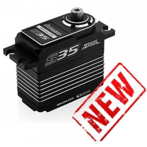 Power HD S35 Servo (SANWA SSR COMPATIBLE)-SILVER