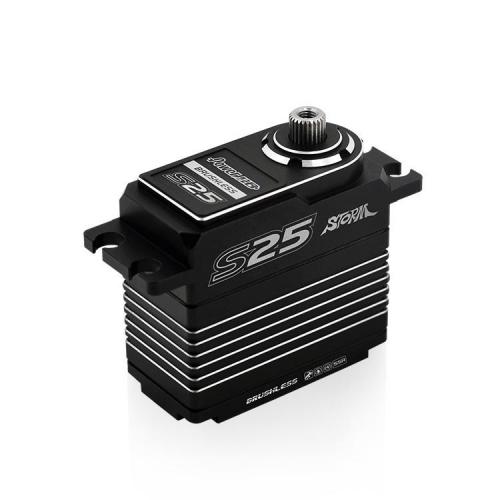 Power HD S25 Servo (SANWA SSR COMPATIBLE)-SILVER
