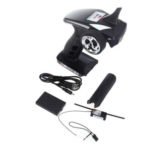 FLYSKY FS-GT2B 2.4G 3CH Radio Transmitter & Receiver per RC Car Boat DE K3X3