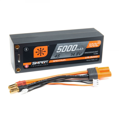 BATTERIA Spektrum 5000mAh 4S 14.8V 100C Smart LiPo